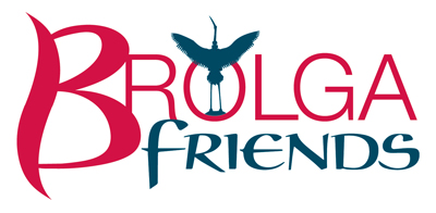 Friends of the Brolga Logo